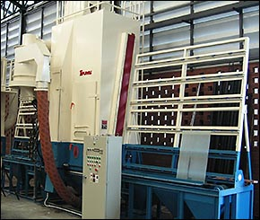 Sheet Blasting Machine