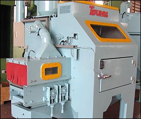 Belt Conveyor Airblast Machine