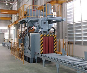 Steel Structure Blasting Machine